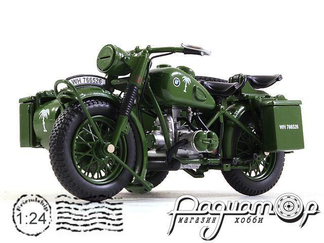 Мотоцикл BMW R75 с пулеметом (1941) 915313