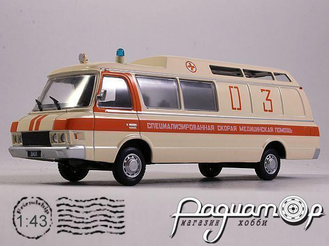 Автолегенды СССР и Соцстран №245, ЗиЛ-118КА Санитарная (1979)