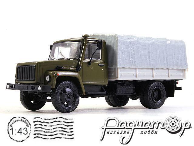 ГАЗ-3309 с тентом (1989) TR1015