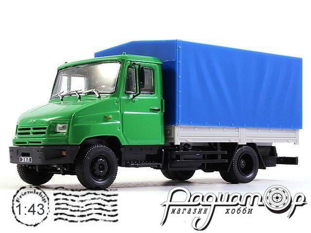 Автолегенды СССР Грузовики №37, ЗИЛ-5301 Б0 (1995)