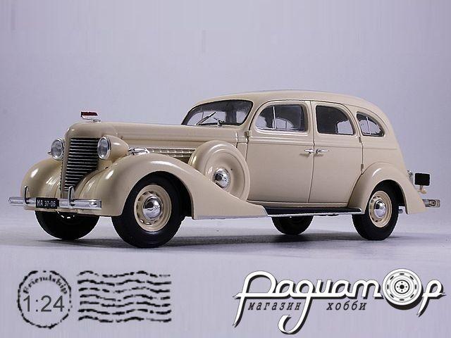 Легендарные советские автомобили №23, ЗИС-101А (1940)