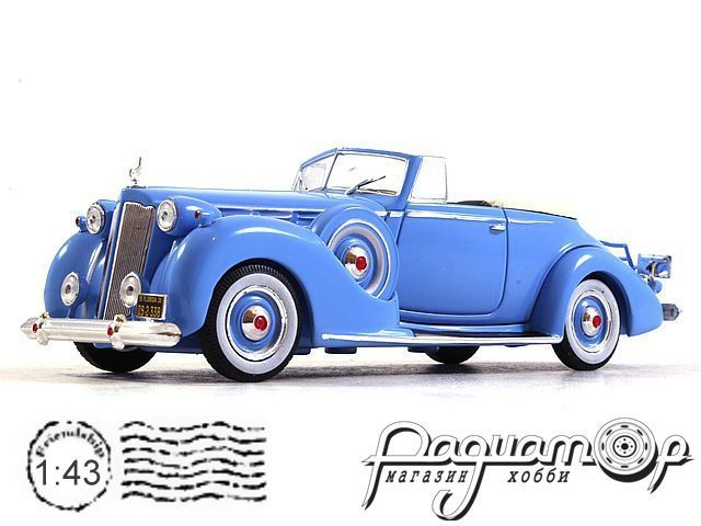 Packard Victoria Convertible (1938) MUS075