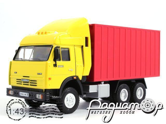 КАМАЗ-54115 контейнер (2000) BR-581122 (MI)