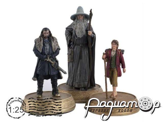 Набор фигурок The King, The Wizard & The Burglar H701