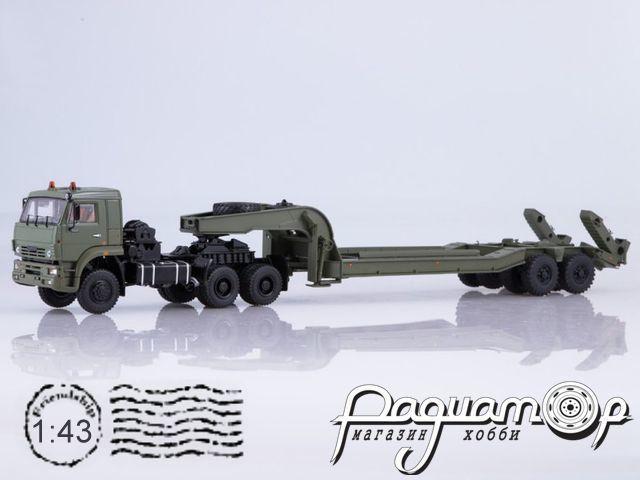 КамАЗ-65225 с полуприцепом ЧМЗАП-5247Г (2006) SSM7050