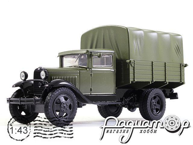 Автолегенды СССР №75, ГАЗ-АА (1932)