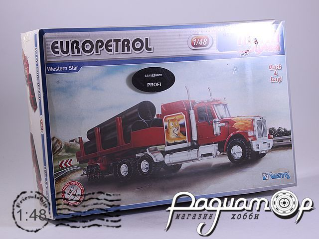Сборная модель Western Star Europetrol MS26 (KG)
