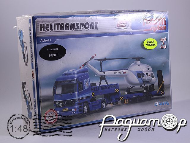 Сборная модель Mercedes-Benz Actros L Helitransport MS58 (KG)