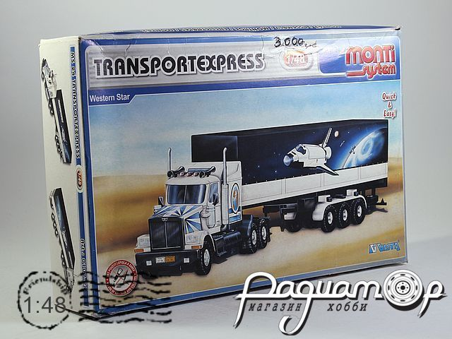 Сборная модель Western Star Transportexpress MS24 (KG)