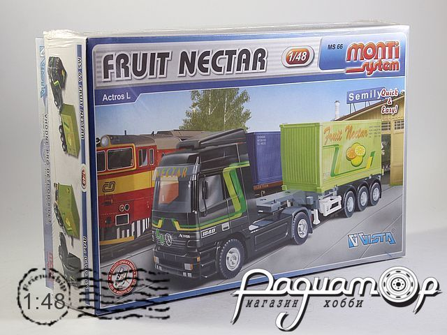 Сборная модель Mercedes-Benz Actros L Fruit Nectar MS66 (KG)