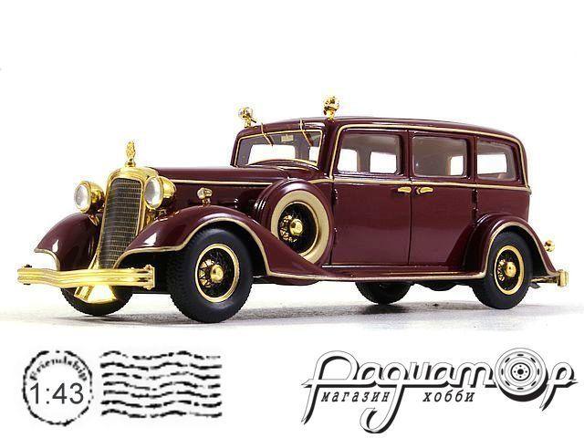 Cadillac Deluxe Tudor Limousine 8C