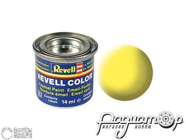 Эмалевая краска №15 желтая матовая (14мл) 32115