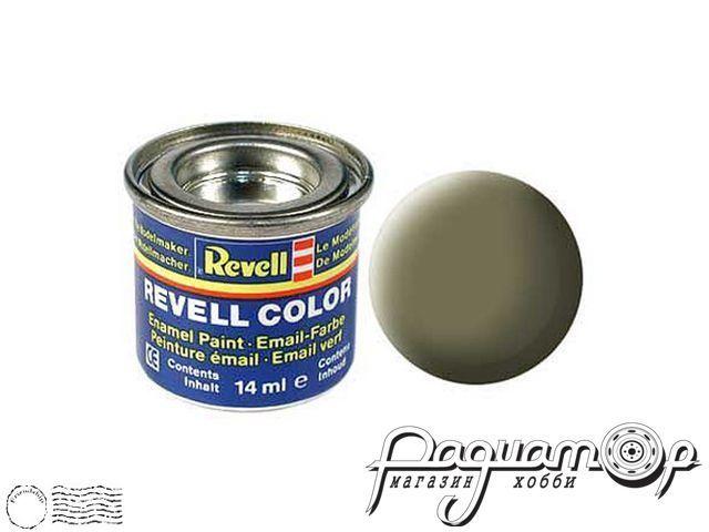 Эмалевая краска №45 светло-оливковая матовая (14мл) 32145