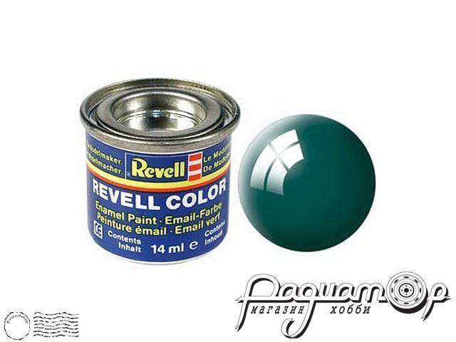 Эмалевая краска №62 буро-зеленая глянцевая (14мл) 32162