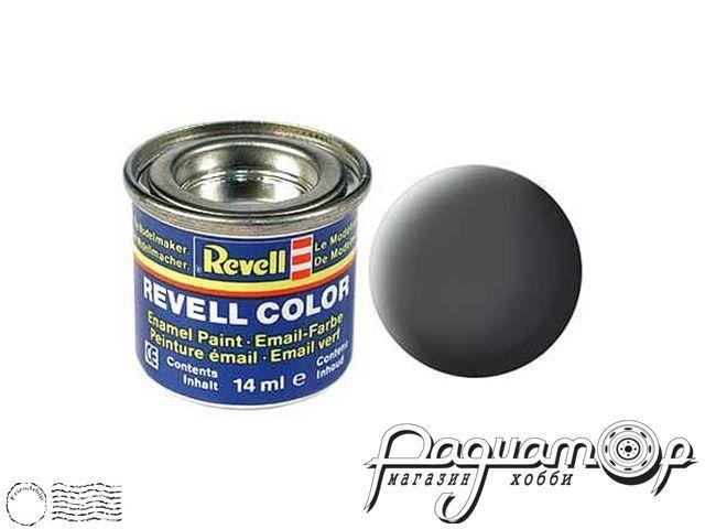 Эмалевая краска №66 оливковая серая матовая (14мл) 32166