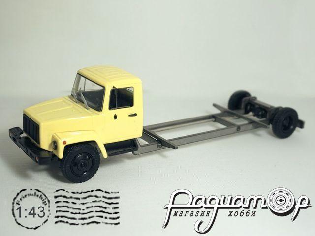 Набор для сборки ГАЗ-3307 Внутризаводской транспорт Павловского автобусного завода (1989) MM2072