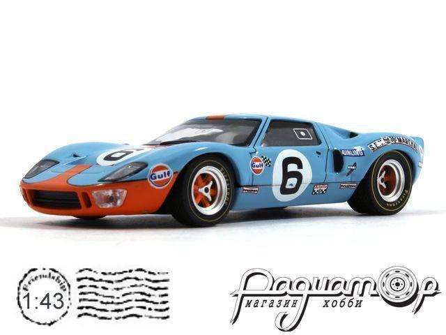 Ford GT40 GULF №6 Winner Le Mans (Jacques Bernard Ickx - J.Oliver) (1969) LM1969