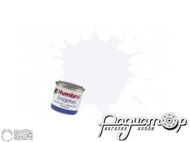 Краска эмалевая Нитро, лак сатин (14мл) HUM-N135