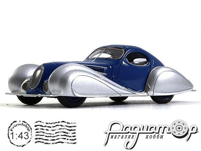 Talbot Lago T150C SS Teardrop Coupe Figoni Falaschi (1937) S2705