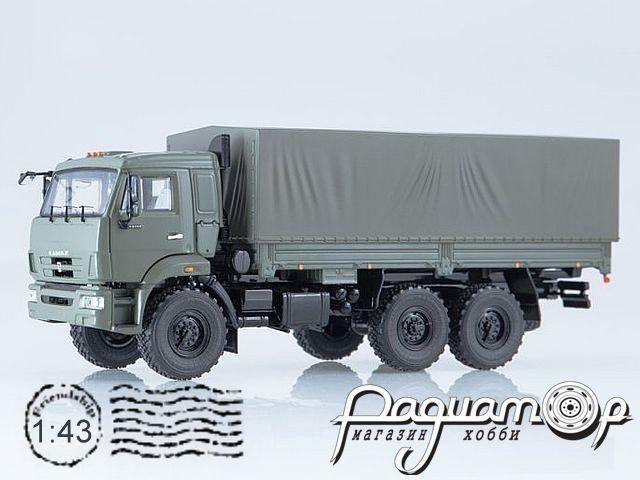 КамАЗ-43118 бортовой с тентом (1995) SSM1316