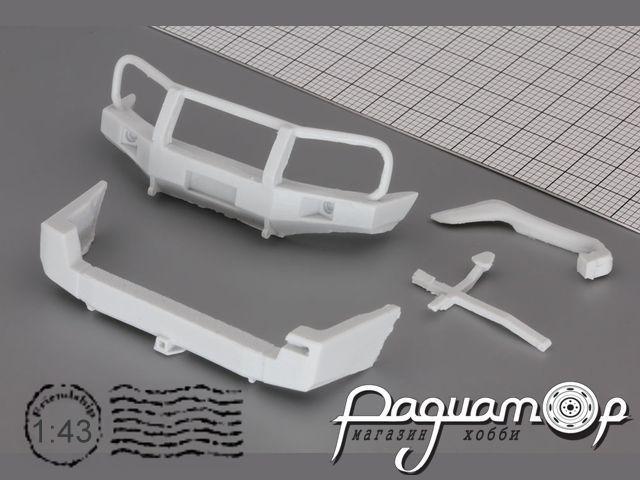 Комплект для внедорожного тюнинга (бампера, шноркель) УАЗ Патриот/UAZ Patriot GM018
