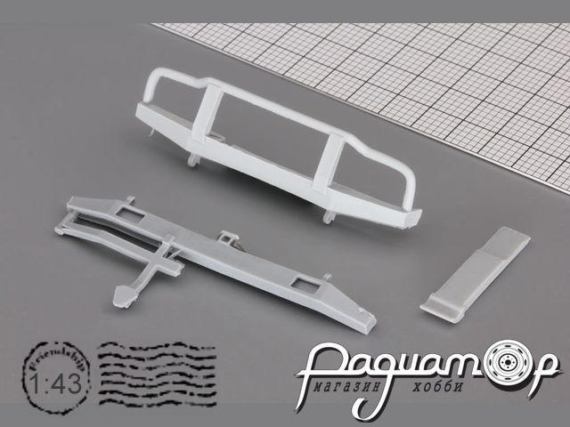 Комплект для внедорожного тюнинга (бампера, шноркель) для УАЗ-452/3909