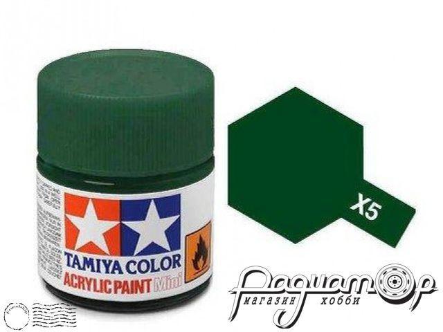 Краска акриловая X-5 зеленый (10мл) 81505