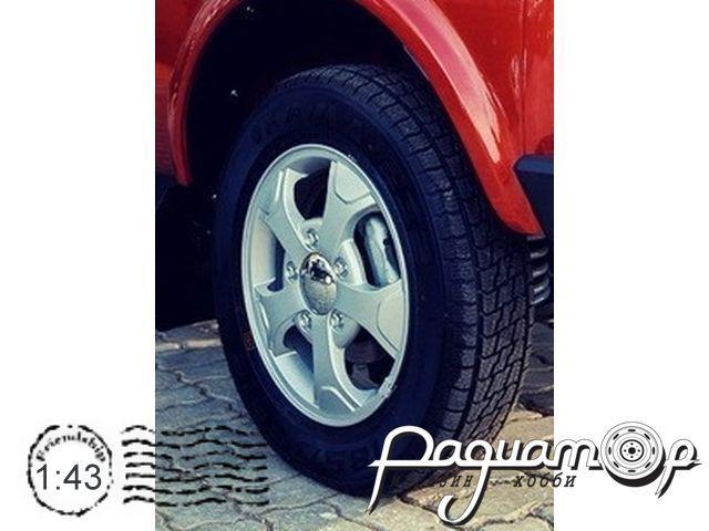 Набор колес для ВАЗ-2121 Elbrus Edition (литой диск, резина) GM042