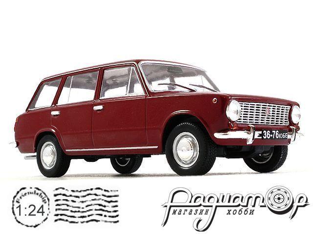 Легендарные советские автомобили №26, ВАЗ-2102 «Жигули» (1971)