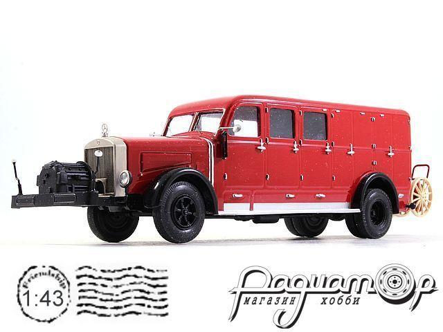 Mercedes-Benz Dresdner Motorschlauchwagen SW (1950) 2-13-3