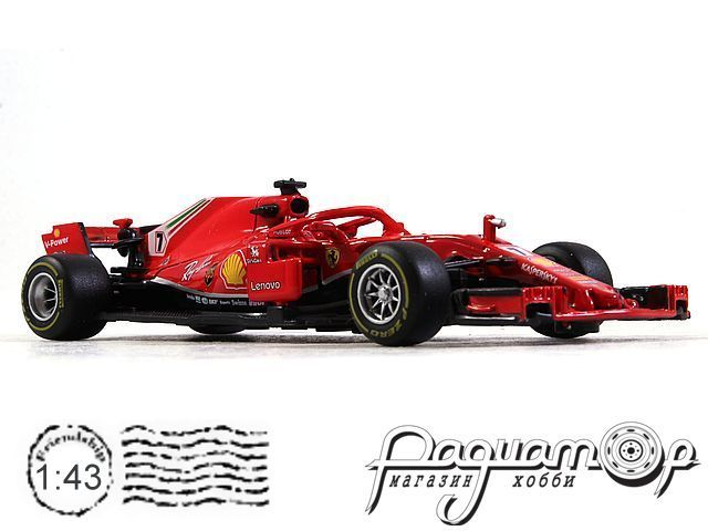 Ferrari SF71H №7 Formula-1, K.Raikkonen (2018) 36809R