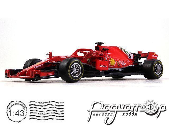 Ferrari SF71H №5 Formula-1, S.Vettel (2018) 36809V