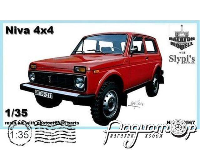 Сборная модель Легковой автомобиль ВАЗ-2121