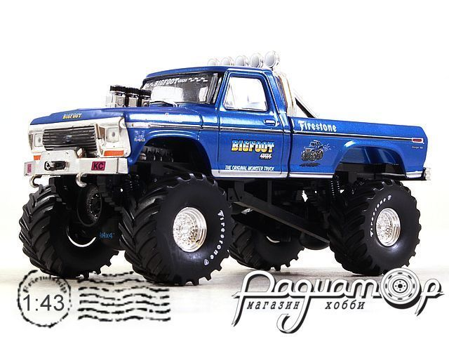 Ford F-250 Monster Truck Bigfoot №1 (1974) 86097