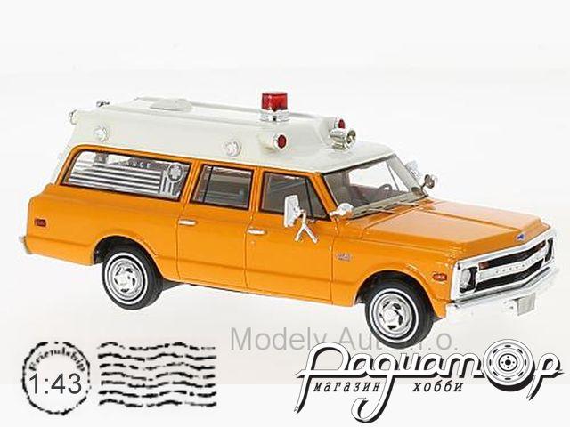 Chevrolet Suburban Ambulance (1970) NEO47245