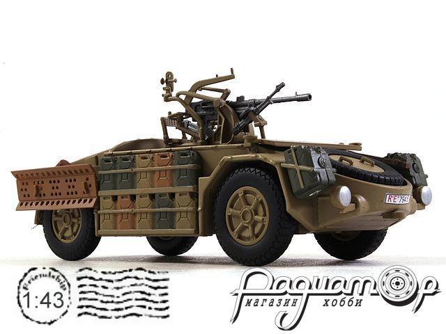Camionetta Desertica Mod.42 Reaggruppamento Sahariano Tunisia (1943) EX16