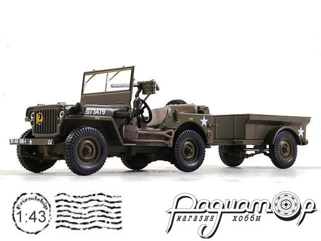 Jeep Willys MB 101st Airborne Division Normandie (France) (1944) EX35