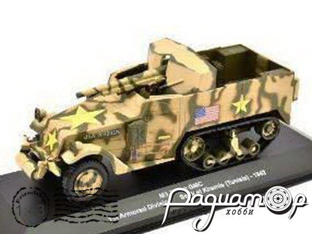 M3 75mm GMC 1st Armored Division Souk el Khemis Тунис (1942) EX70