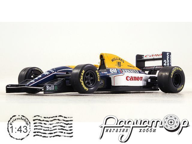 Formula 1 Auto Collection №4, Williams FW15C, Ален Прост (1993)