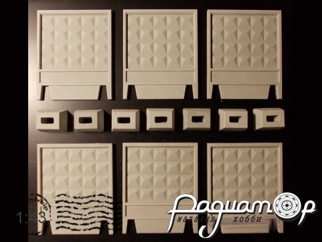 Забор строительный ПО-2/ПО-2М (универсальный комплект) BL4307