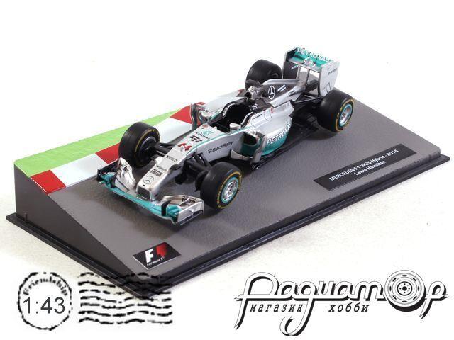 Formula 1 Auto Collection №40, Mercedes F1 W05 Hybrid, Льюис Хэмилтон (2014)