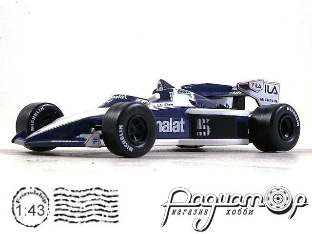 Formula 1 Auto Collection №4, Brabham BT52B, Нельсон Пике (1983) тест