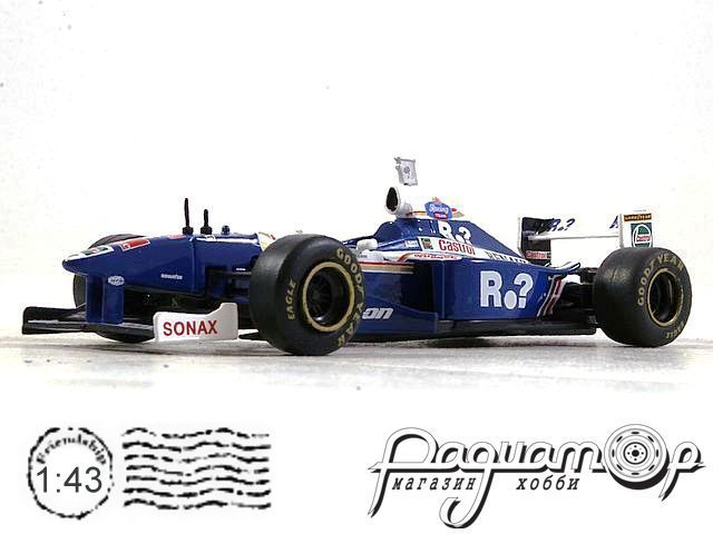 Formula 1 Auto Collection №5, Williams FW19, Жак Вильнёв (1997) тест