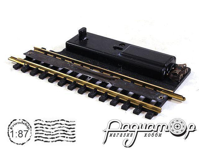 Расцепитель стрелок Fleischmann (электропривод не рабочий) Т-образный профиль (механический привод рабочий) (I)*