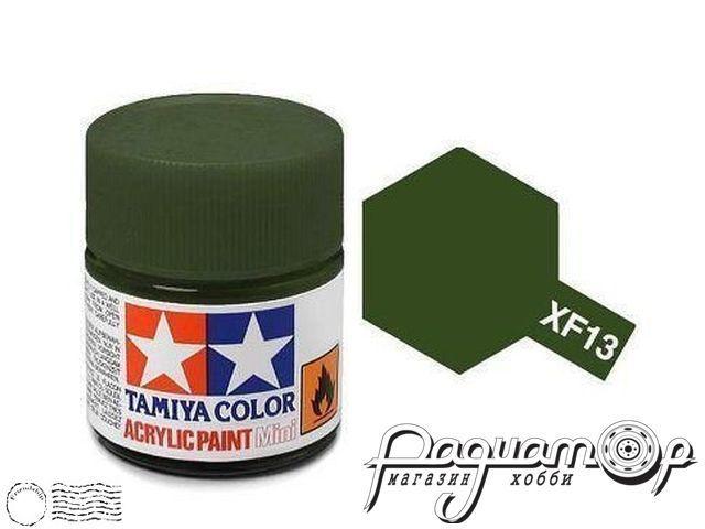 Краска акриловая XF-13 темно-зеленый (10мл) 81713
