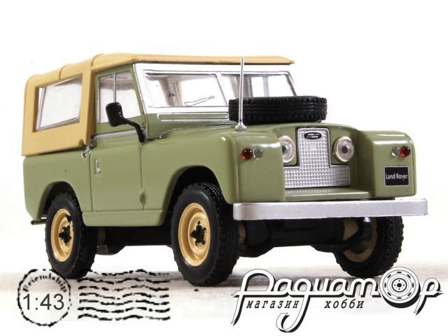 Land Rover 88 Serie II (1961) WB286