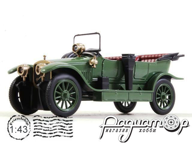 Автолегенды СССР и Соцстран №254, Руссо-Балт С24/30 НР Торпедо (1910)