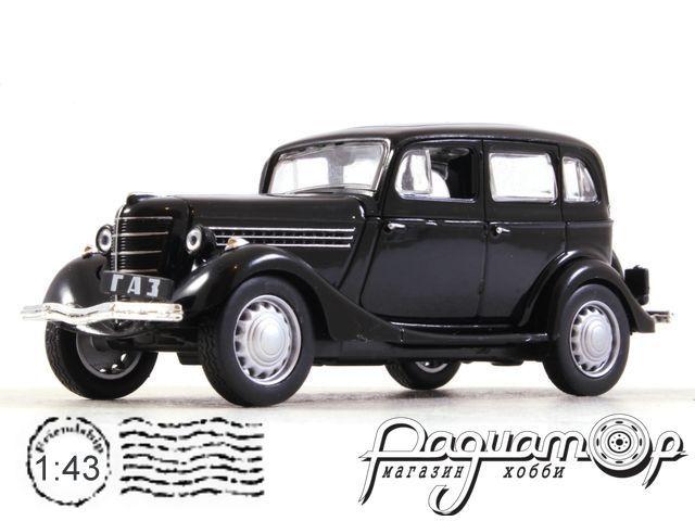 Автолегенды СССР и Соцстран №255, ГАЗ 11-73 (1940)