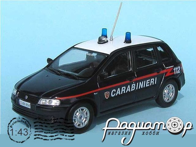 Fiat Stilo 1,9 JTD Carabinier (2001) C040
