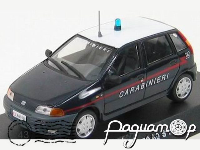 Fiat Punto 60S Carabinieri (1995) C045